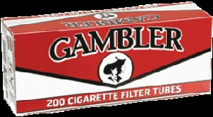 Gambler King Size Filtered Cigarette Tubes