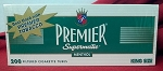 Premier Green King Size Filtered Tubes