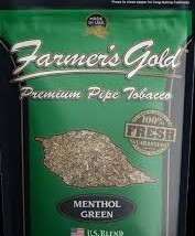 Farmer's Gold Menthol Green Pipe Tobacco 6 oz